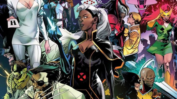 reign of x nuove serie x-men