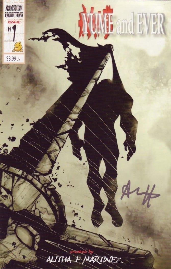 Alitha Martinez, cover di 'Yume and Ever #1
