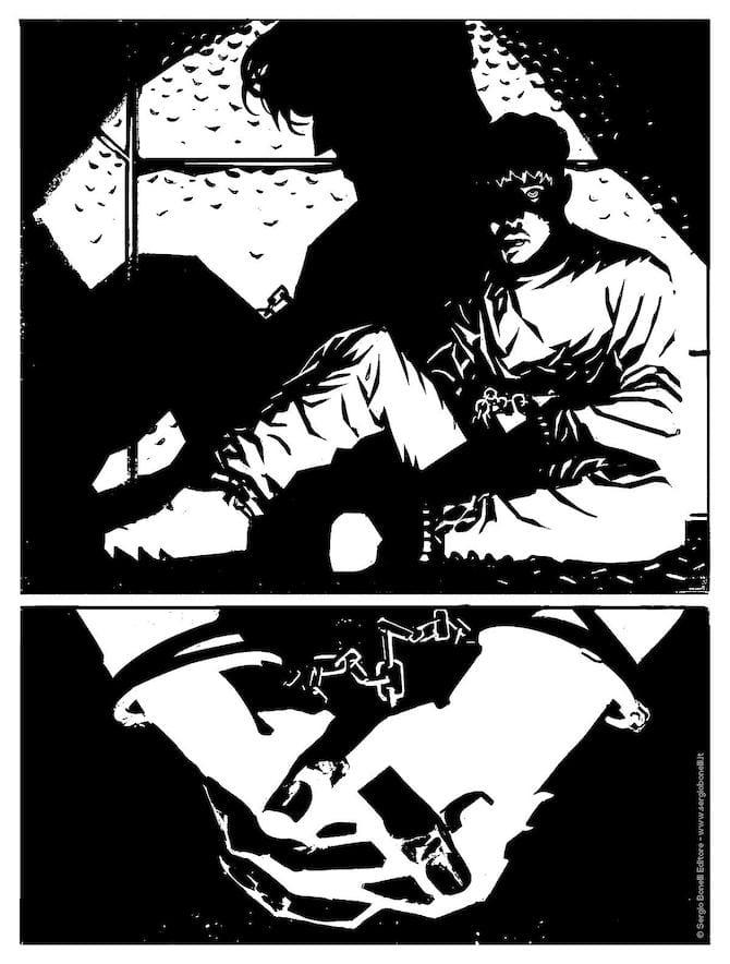 dylan dog 416 il detenuto mauro uzzeo arturo lauria bonelli