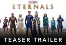 eternals teaser trailer marvel