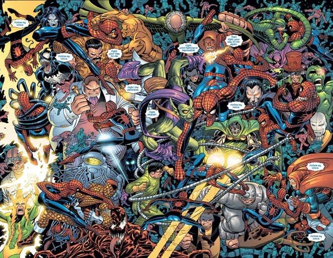 spider-man john romita jr lotta supereroi fumetti