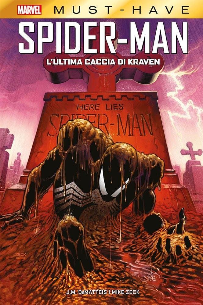 fumetti marvel panini settimana ultima caccia di kraven spider-man