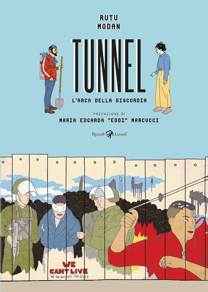 tunnel rutu modan lizard