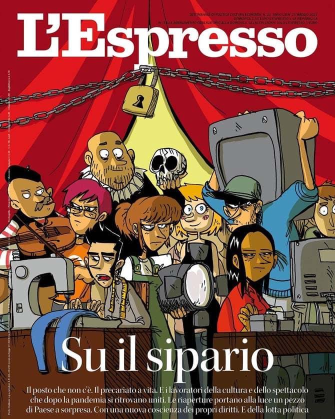 zerocalcare espresso cultura spettacolo
