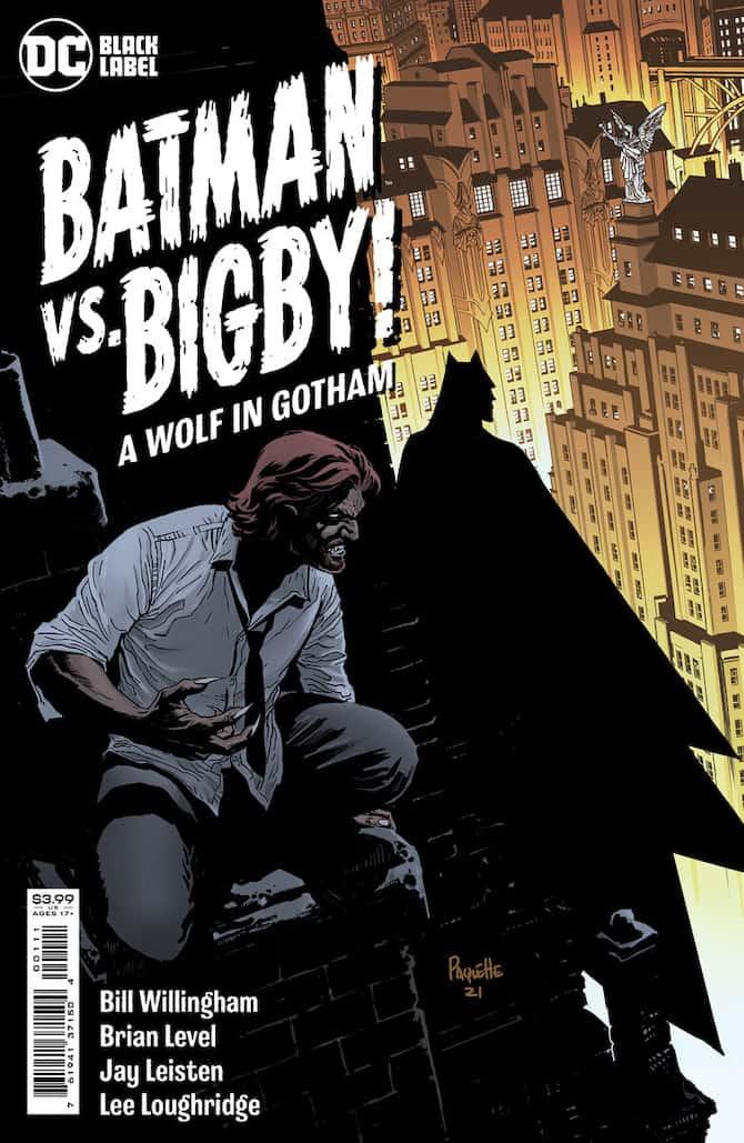 Batman vs. Bigby! A Wolf in Gotham fables