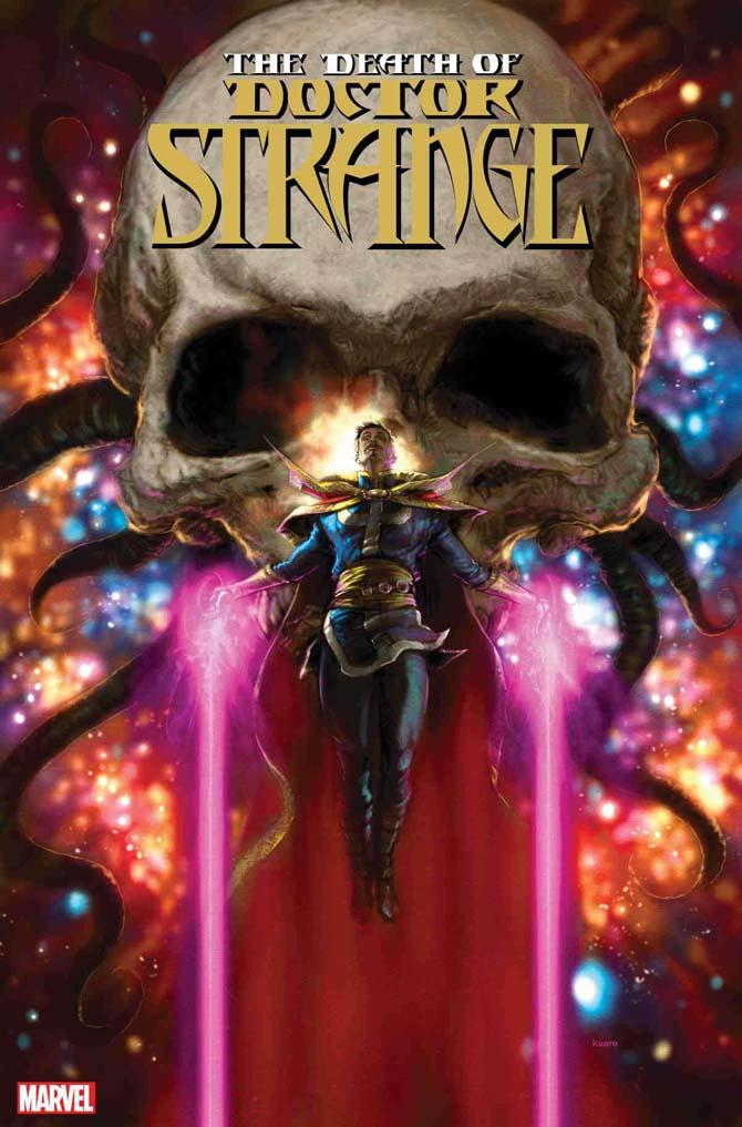 death of doctor strange fumetto marvel