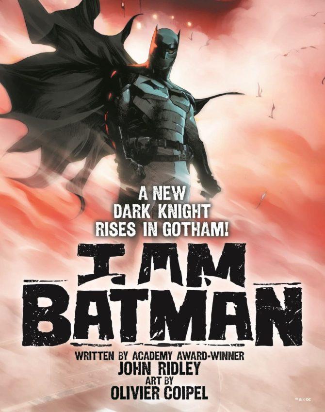 i am batman tim fox dc comics
