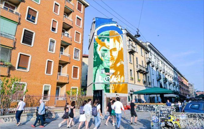 loki murale milano