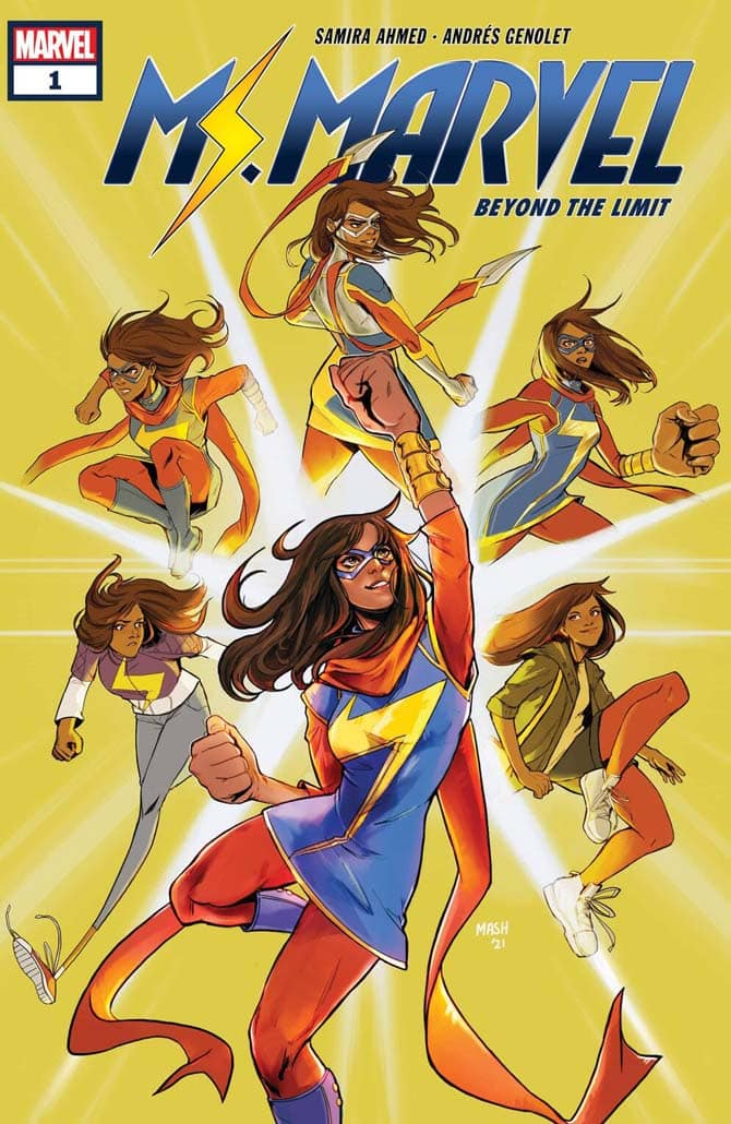 ms marvel beyond the limit fumetto marvel