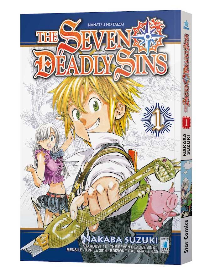 seven deadly sins collection nuovi manga star comics