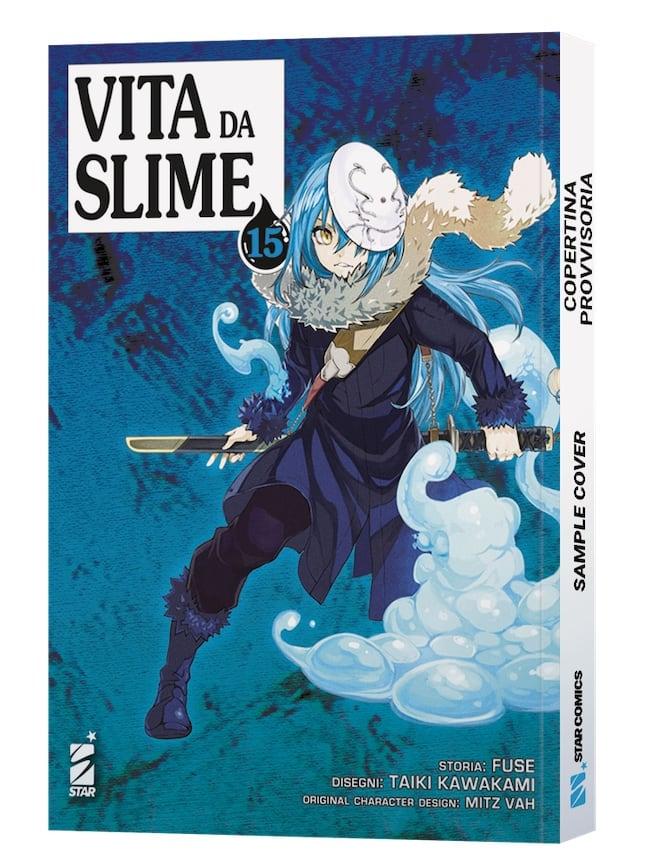 vita da slime 15 nuovi manga star comics