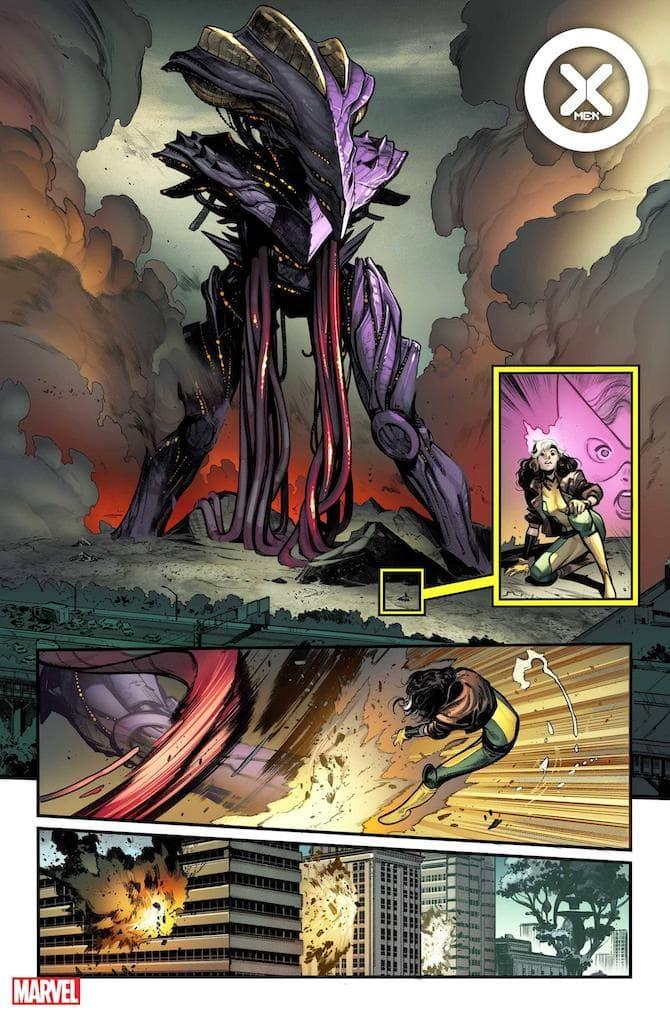 nuovo fumetto x-men marvel comics