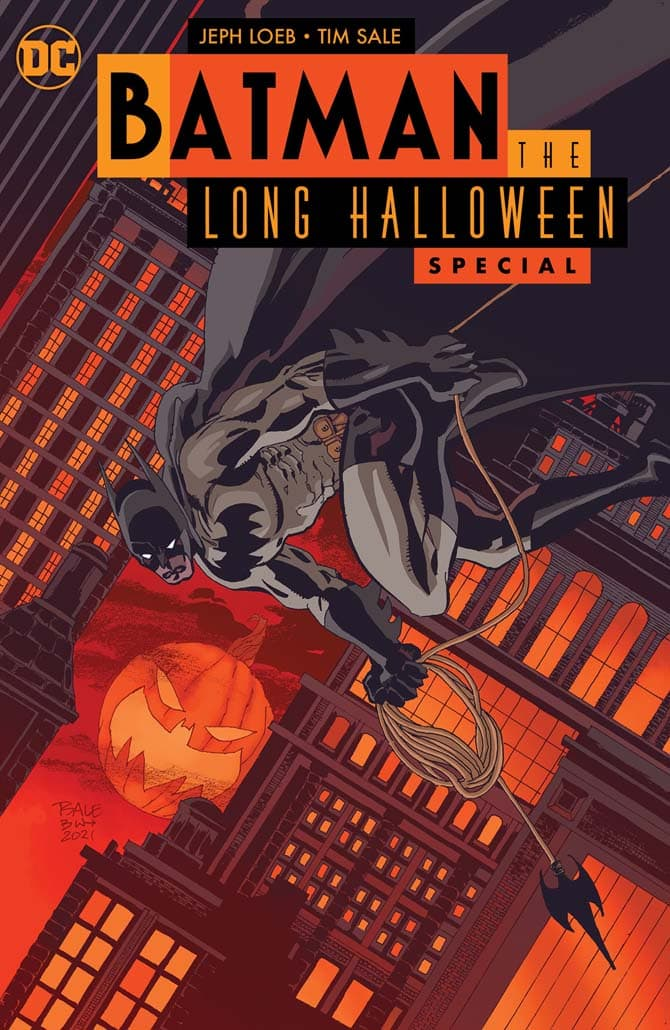 batman lungo halloween speciale