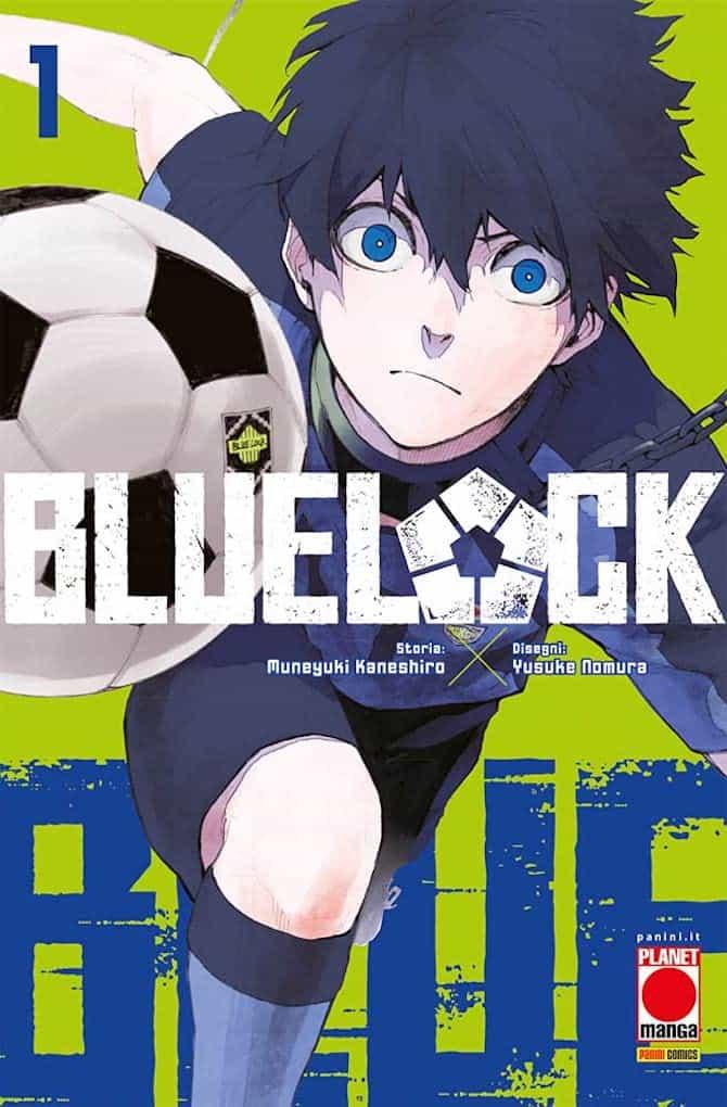 blue lock manga panini