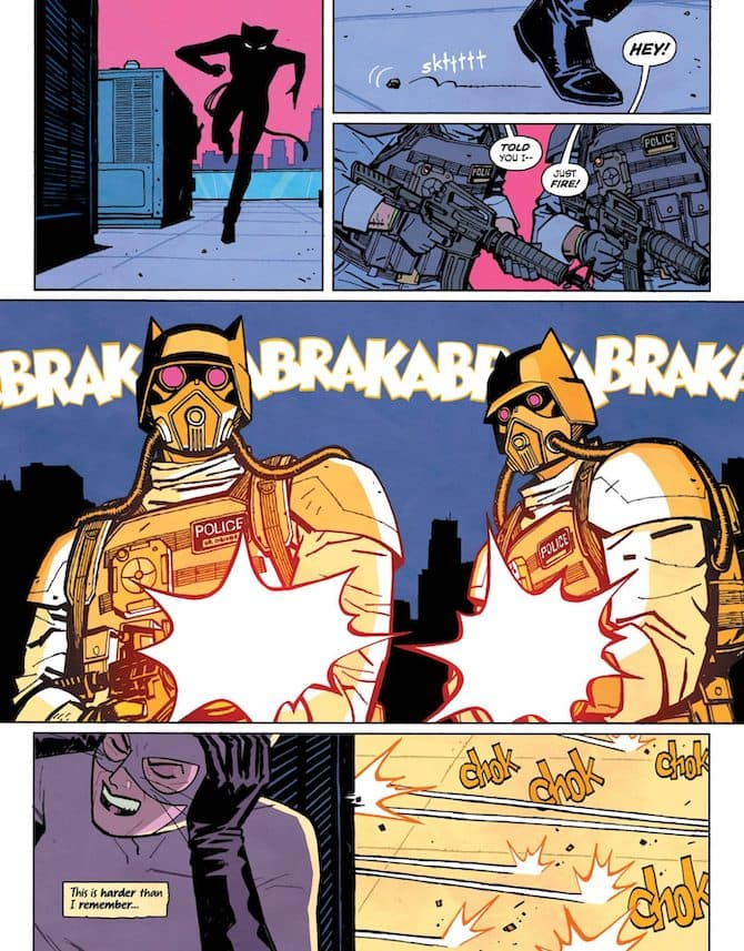 cliff chiang catwoman lonely city