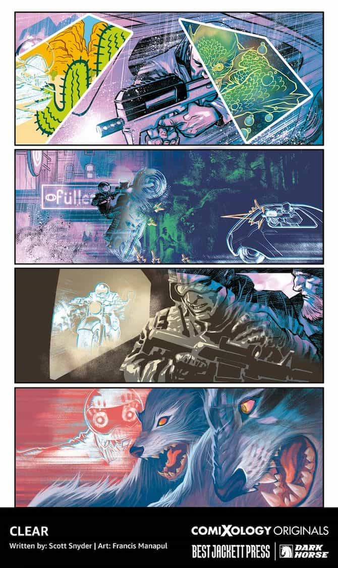 scott snyder amazon fumetti clear