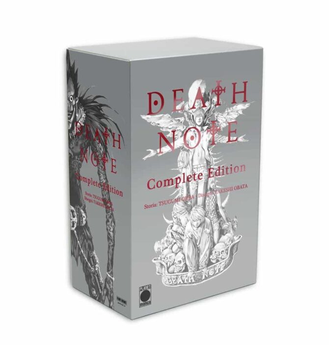 death note complete edition planet manga settimana