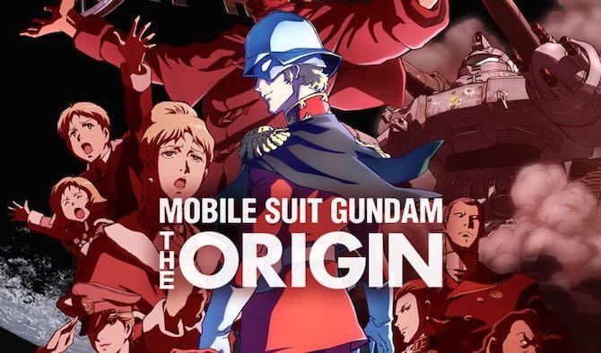 anime streaming luglio 2021 gundam origin