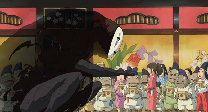 la città incantata hayao miyazaki studio ghibli