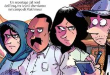 zerocalcare reportage fumetti iraq internazionale se cadono le montanghe