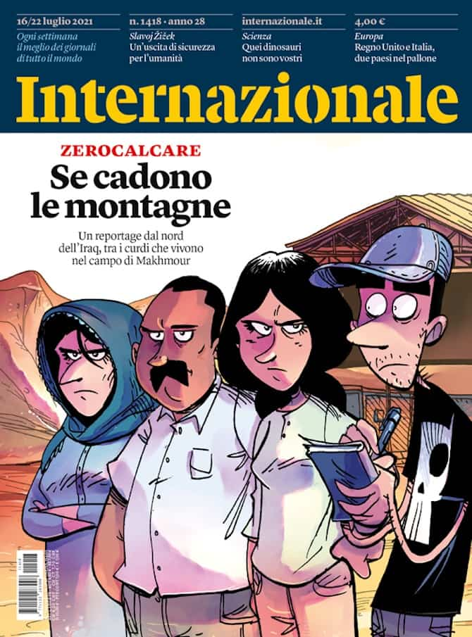 zerocalcare reportage fumetti iraq internazionale se cadono le montagne