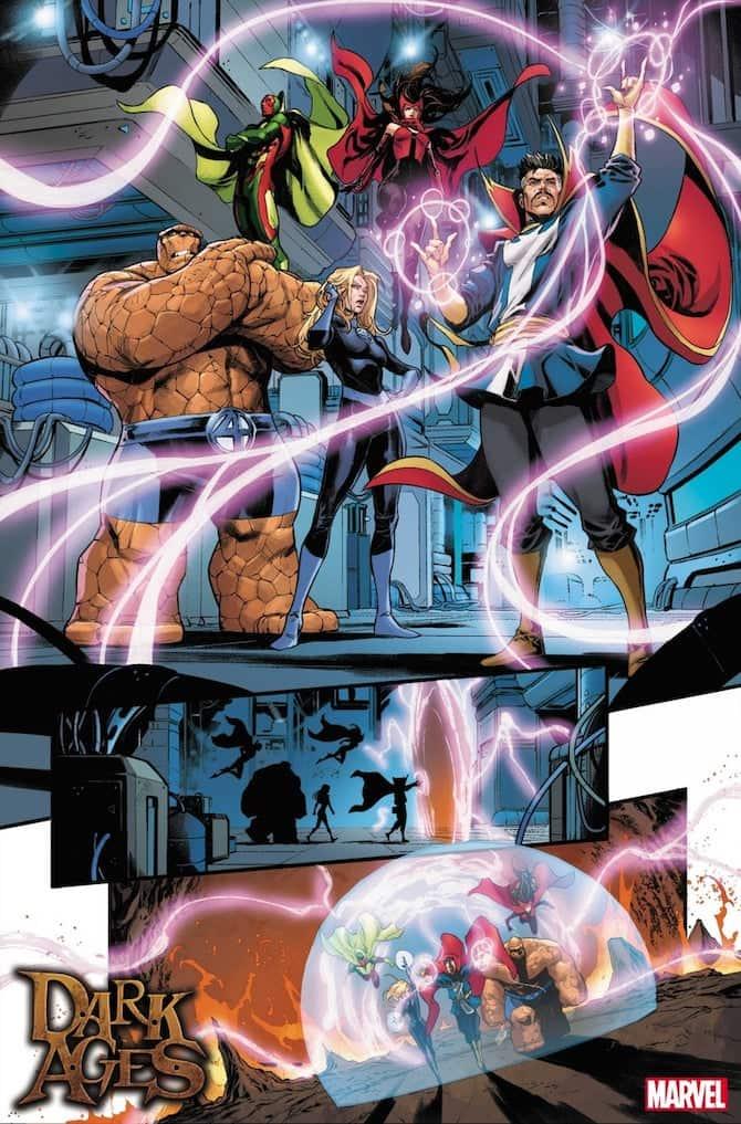 dark ages marvel comics fumetti