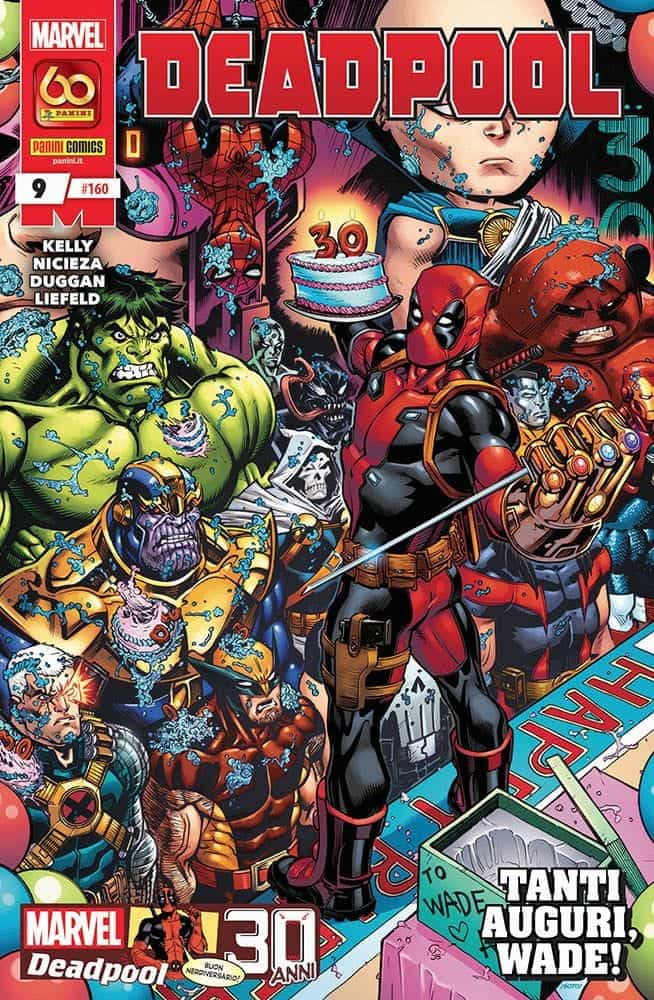 panini marvel fumetti deadpool