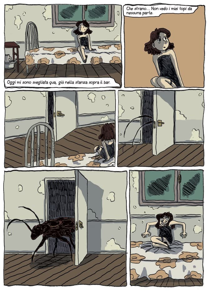 giu le zampe gato fernandez comicout