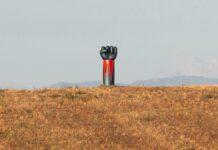 scultura goldrake maremma toscana