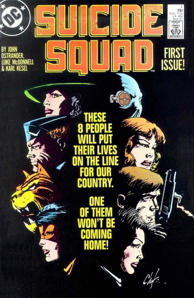 suicide squad fumetto