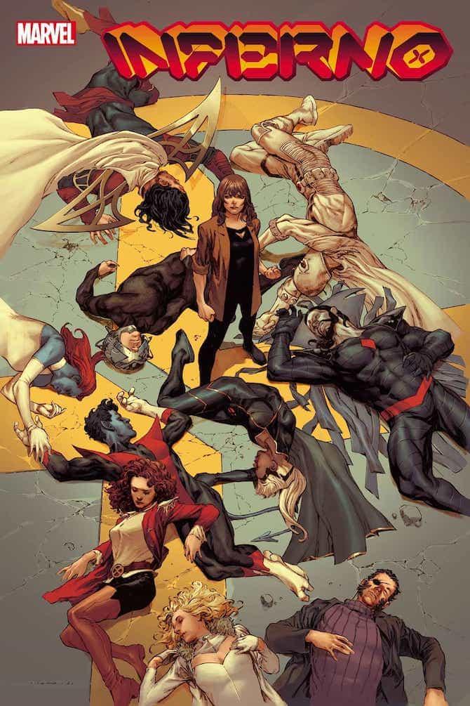 jonathan Hickman lascia x-men inferno marvel comics
