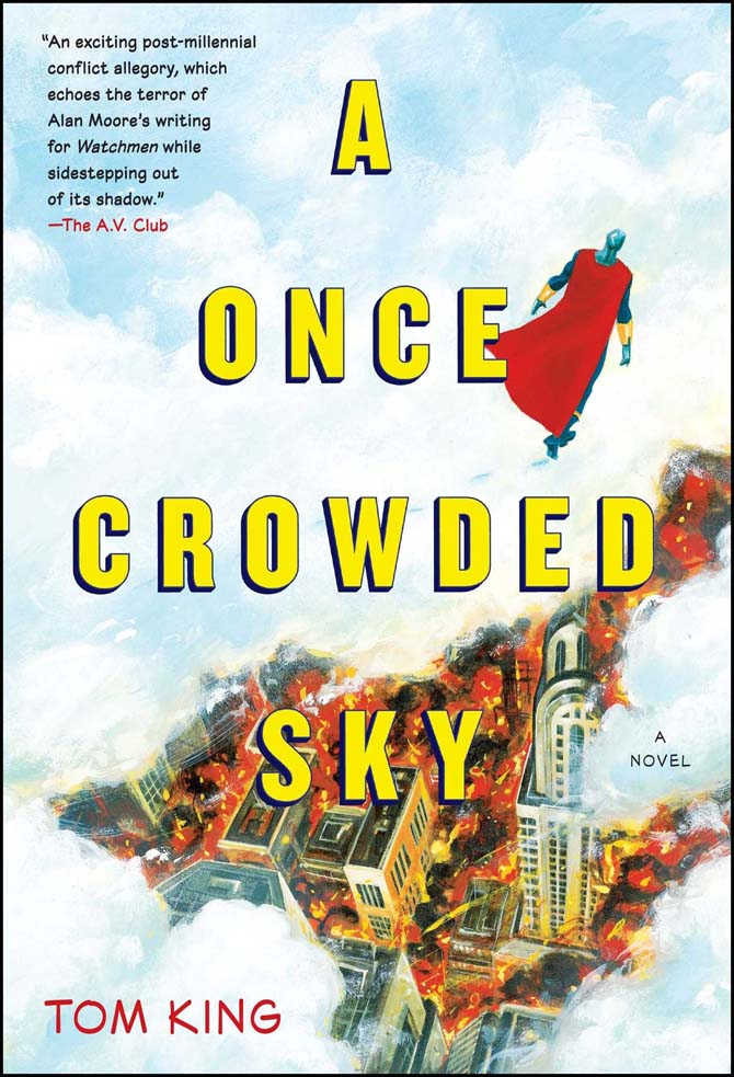 cosmo romanzo tom king a once crowded sky
