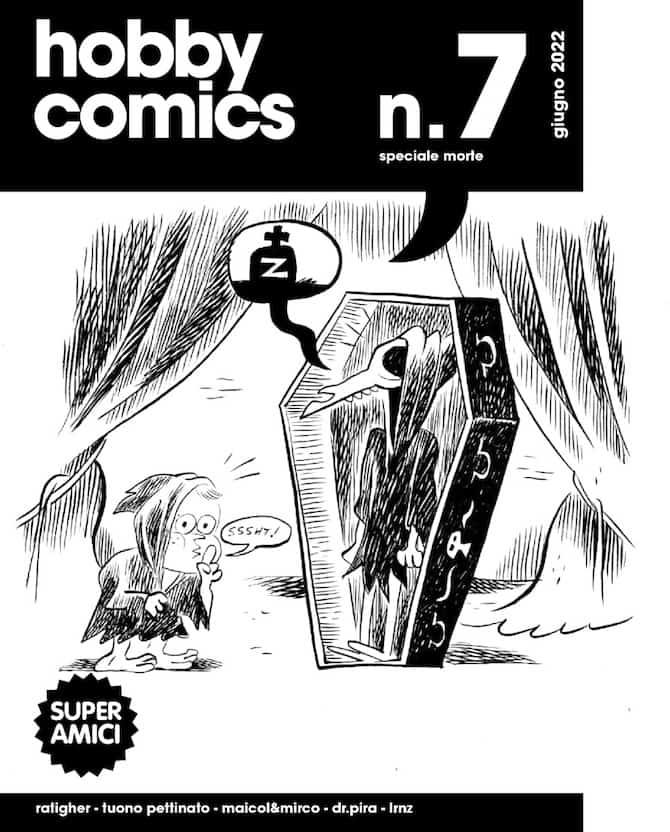 super amici hobby comics