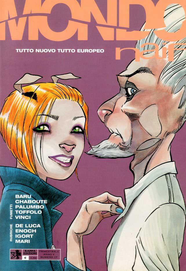 mondo naif 17 fumetti rivista