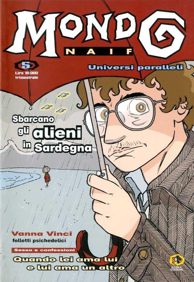 mondo naif 5 fumetti rivista