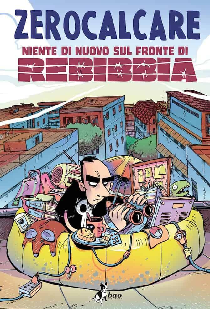 copertina nuovo libro zerocalcare
